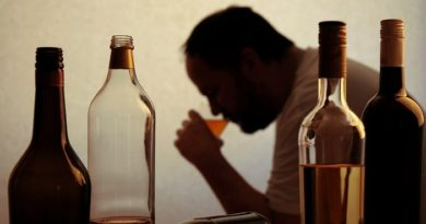 Association of alcohol dependence with addiction to other psychoactive substances